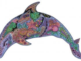 Dolphin - Liberty Puzzles - 1