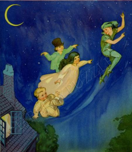 Peter Pan Flying - Liberty Puzzles - 2