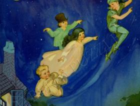 Peter Pan Flying - Liberty Puzzles - 1
