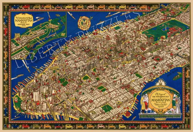 The Wondrous Isle of Manhattan - Liberty Puzzles - 11