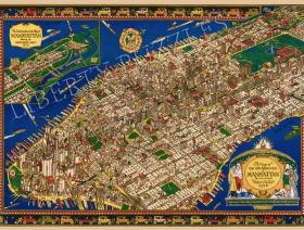 The Wondrous Isle of Manhattan - Liberty Puzzles - 1