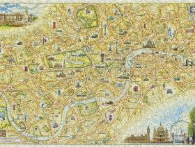 London Xplorer Map - Liberty Puzzles - 2