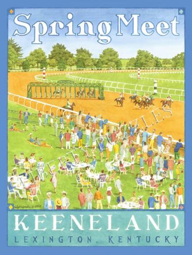 Spring Meet, Keeneland - Liberty Puzzles - 8