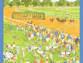 Spring Meet, Keeneland - Liberty Puzzles - 1