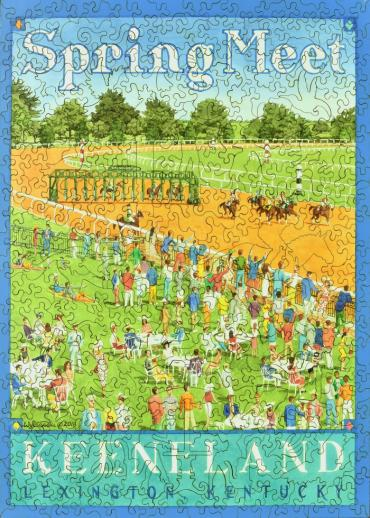 Spring Meet, Keeneland - Liberty Puzzles - 9