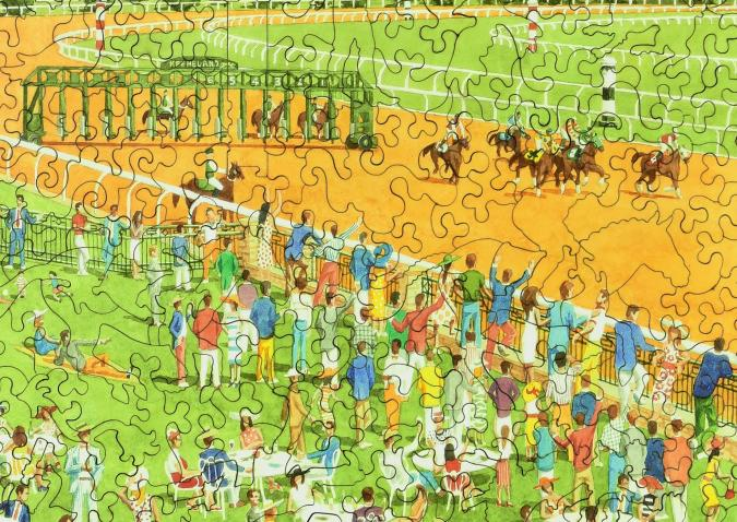 Spring Meet, Keeneland - Liberty Puzzles - 10