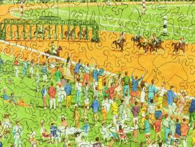 Spring Meet, Keeneland - Liberty Puzzles - 3
