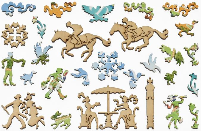Spring Meet, Keeneland - Liberty Puzzles - 12