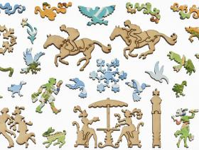Spring Meet, Keeneland - Liberty Puzzles - 5