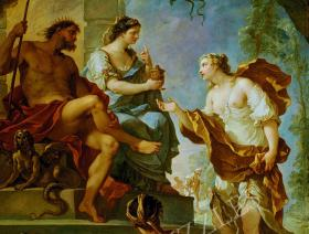 Psyche Obtaining the Elixir of Beauty - Liberty Puzzles - 1