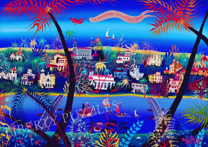 75th Anniversary of Palm Beach - Liberty Puzzles - 10