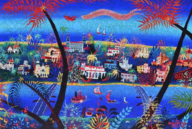 75th Anniversary of Palm Beach - Liberty Puzzles - 11