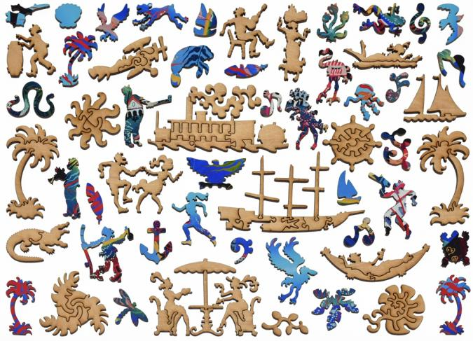 75th Anniversary of Palm Beach - Liberty Puzzles - 14