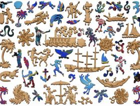 75th Anniversary of Palm Beach - Liberty Puzzles - 5