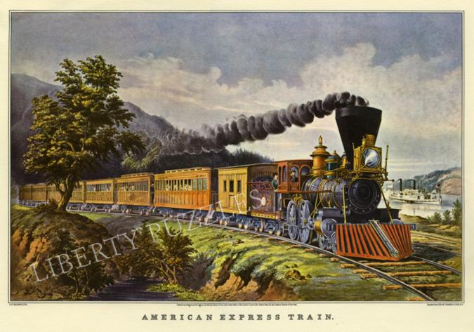 American Express Train - Liberty Puzzles - 6