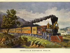 American Express Train - Liberty Puzzles - 1