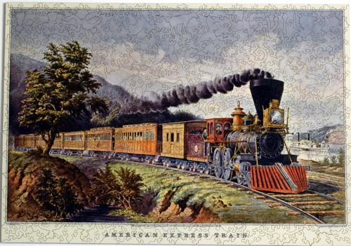 American Express Train - Liberty Puzzles - 7