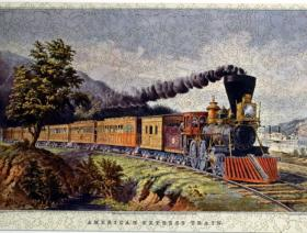 American Express Train - Liberty Puzzles - 2
