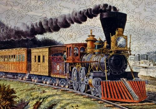 American Express Train - Liberty Puzzles - 8