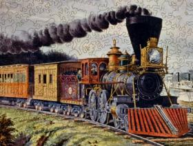 American Express Train - Liberty Puzzles - 3
