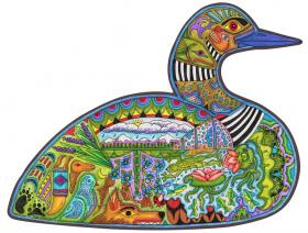 Loon - Liberty Puzzles - 1