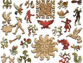 Heirloom Berry Assortment - Liberty Puzzles - 5