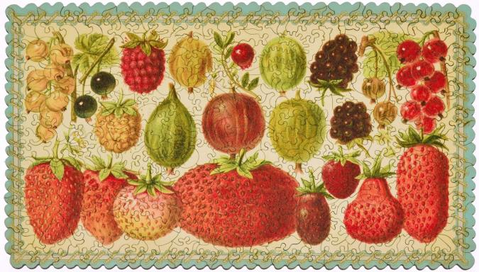 Heirloom Berry Assortment - Liberty Puzzles - 9