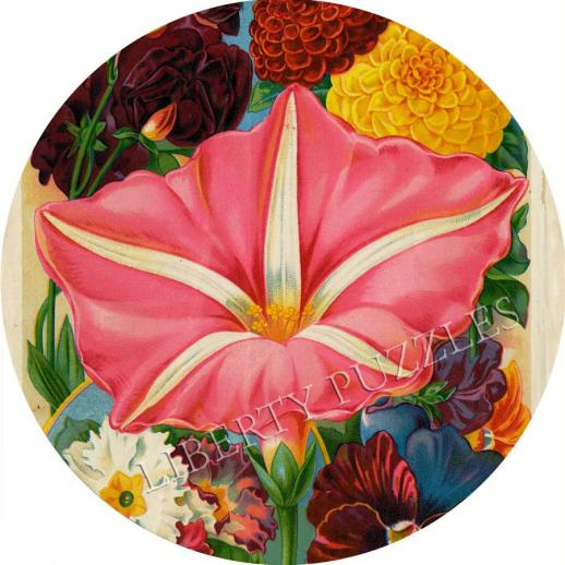 Giant Moonflower - Liberty Puzzles - 6
