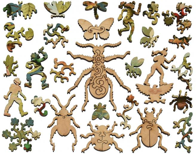 Beetles - Liberty Puzzles - 12