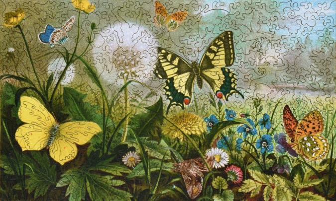 German Butterflies - Liberty Puzzles - 10