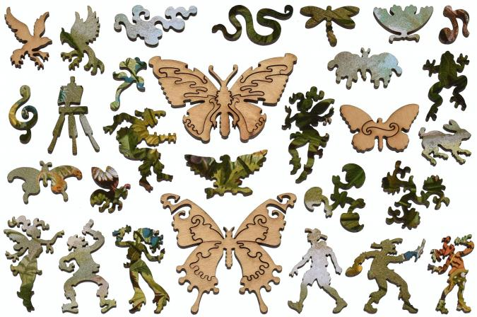 German Butterflies - Liberty Puzzles - 13