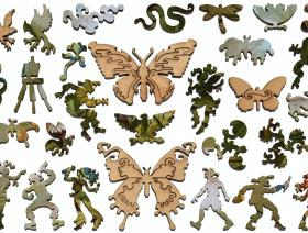 German Butterflies - Liberty Puzzles - 5