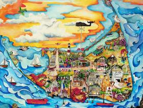 Nantucket - Liberty Puzzles - 1