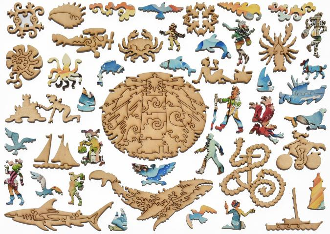 Nantucket - Liberty Puzzles - 11
