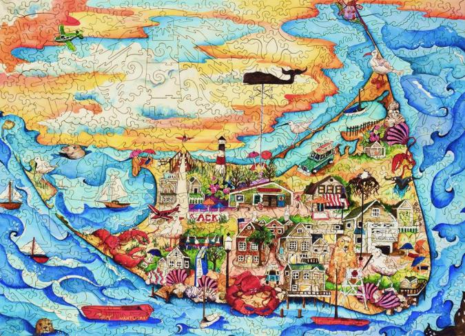 Nantucket - Liberty Puzzles - 8