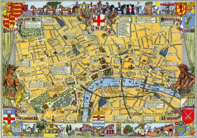 Map of London - Liberty Puzzles - 6