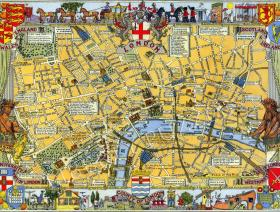 Map of London - Liberty Puzzles - 1