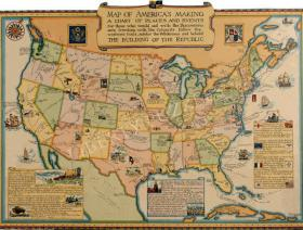 Map of America's Making - Liberty Puzzles - 1