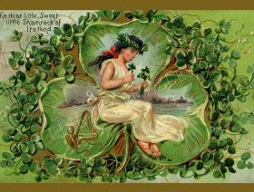 Shamrock of Ireland - Liberty Puzzles - 1