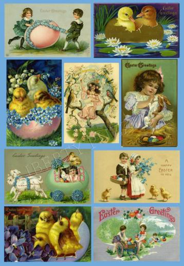 Easter Collage - Liberty Puzzles - 6