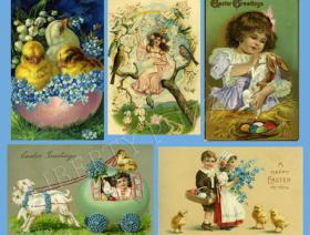 Easter Collage - Liberty Puzzles - 1