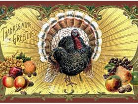 Thanksgiving Postcard - Liberty Puzzles - 1