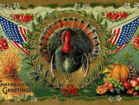 Patriotic Turkey - Liberty Puzzles - 1