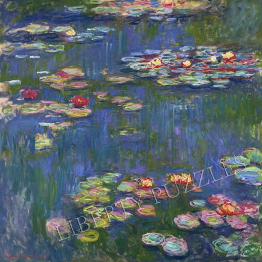 Water Lilies, 1916 - Liberty Puzzles - 9
