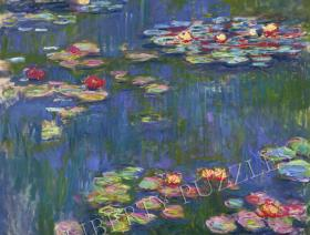 Water Lilies, 1916 - Liberty Puzzles - 1