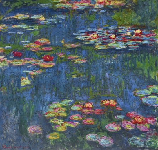Water Lilies, 1916 - Liberty Puzzles - 10