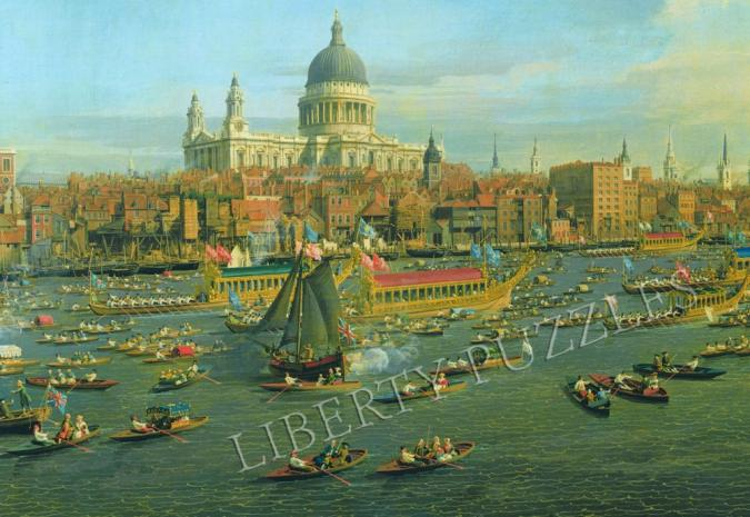 The Thames and the City - Liberty Puzzles - 10