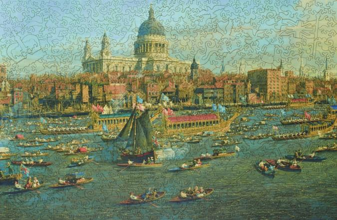 The Thames and the City - Liberty Puzzles - 11