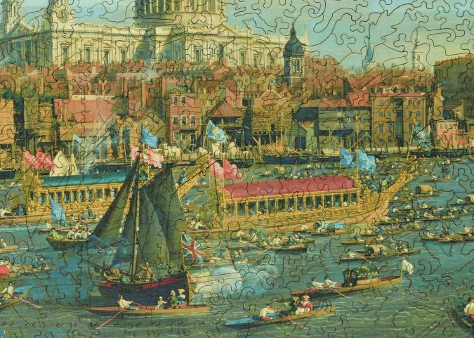The Thames and the City - Liberty Puzzles - 12