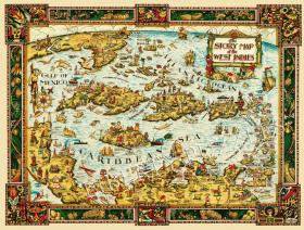 The Story Map of the West Indies - Liberty Puzzles - 1